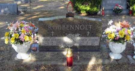 ROBBENNOLT, ARTHUR - Davison County, South Dakota | ARTHUR ROBBENNOLT - South Dakota Gravestone Photos