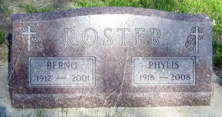 ROSTER, PHYLIS - Davison County, South Dakota | PHYLIS ROSTER - South Dakota Gravestone Photos