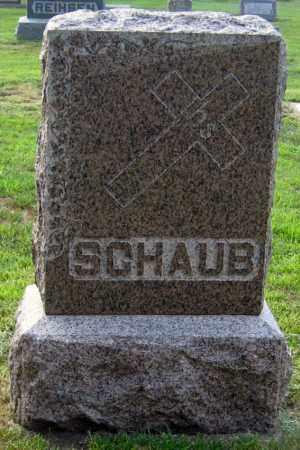 SCHAUB, FAMILY STONE - Davison County, South Dakota | FAMILY STONE SCHAUB - South Dakota Gravestone Photos