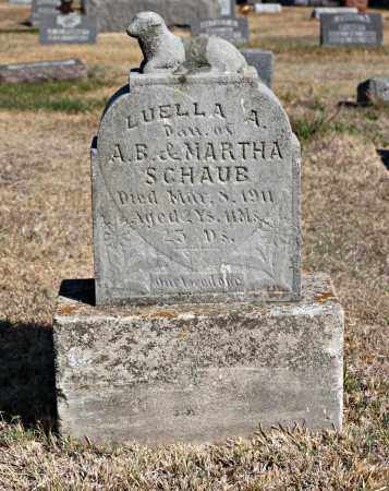 SCHAUB, LUELLA - Davison County, South Dakota | LUELLA SCHAUB - South Dakota Gravestone Photos