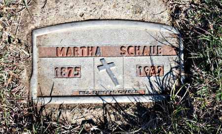 SCHAUB, MARTHA - Davison County, South Dakota | MARTHA SCHAUB - South Dakota Gravestone Photos