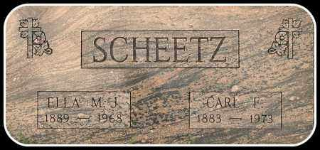 SCHEETZ, CARL F. - Davison County, South Dakota | CARL F. SCHEETZ - South Dakota Gravestone Photos