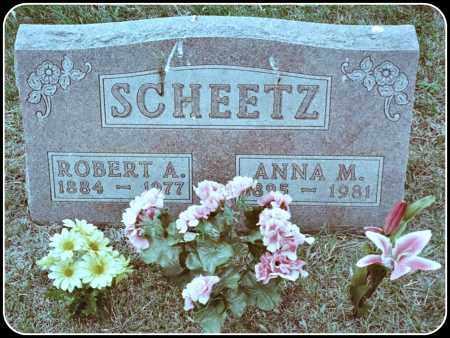 SCHEETZ, ROBERT A. - Davison County, South Dakota | ROBERT A. SCHEETZ - South Dakota Gravestone Photos