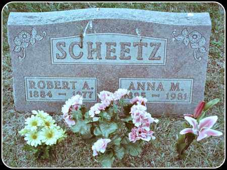 SCHEETZ, ANNA MARIA - Davison County, South Dakota   ANNA MARIA SCHEETZ - South Dakota Gravestone Photos