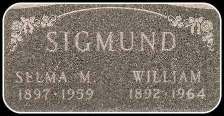 SIGMUND, WILLIAM - Davison County, South Dakota | WILLIAM SIGMUND - South Dakota Gravestone Photos