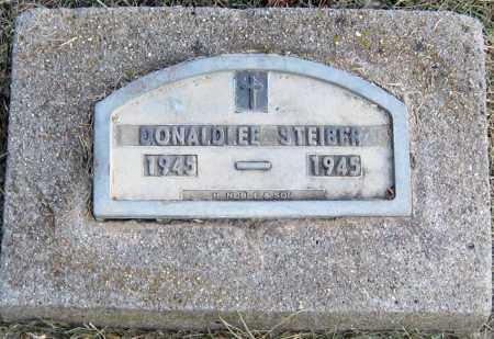 STEIBER, DONALD LEE - Davison County, South Dakota   DONALD LEE STEIBER - South Dakota Gravestone Photos