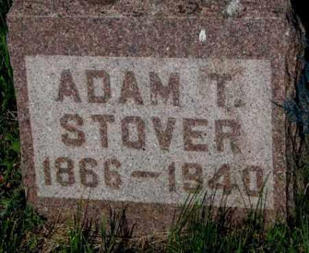 STOVER, ADAM T. - Davison County, South Dakota | ADAM T. STOVER - South Dakota Gravestone Photos