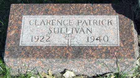 SULLIVAN, CLARENCE - Davison County, South Dakota | CLARENCE SULLIVAN - South Dakota Gravestone Photos