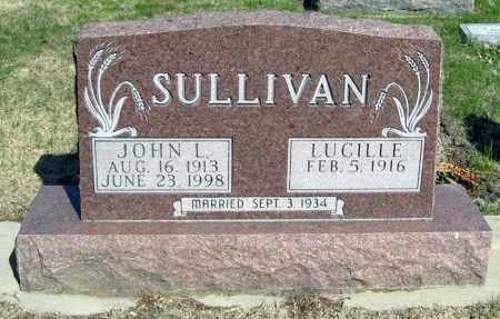 WELCH SULLIVAN, LUCILLE - Davison County, South Dakota | LUCILLE WELCH SULLIVAN - South Dakota Gravestone Photos
