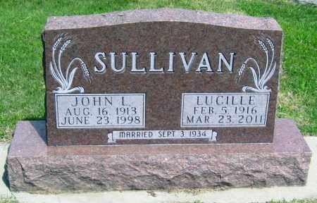 SULLIVAN, LUCILLE - Davison County, South Dakota | LUCILLE SULLIVAN - South Dakota Gravestone Photos