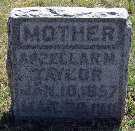 TAYLOR, ARZELLA - Davison County, South Dakota   ARZELLA TAYLOR - South Dakota Gravestone Photos