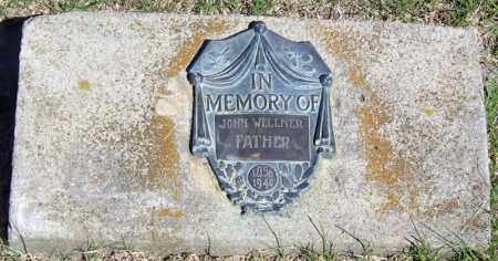 WELLNER, JOHN - Davison County, South Dakota | JOHN WELLNER - South Dakota Gravestone Photos