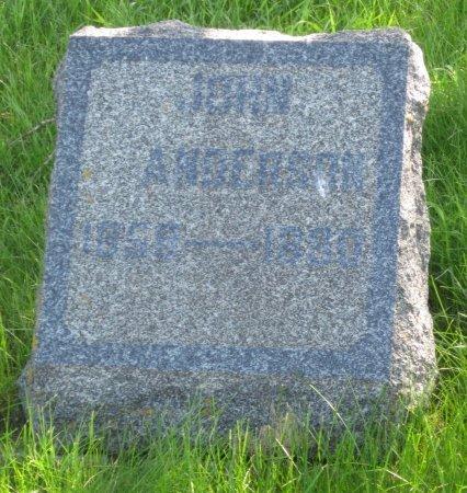 ANDERSON, JOHN - Day County, South Dakota | JOHN ANDERSON - South Dakota Gravestone Photos