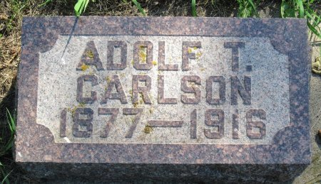 CARLSON, ADOLF T. - Day County, South Dakota   ADOLF T. CARLSON - South Dakota Gravestone Photos