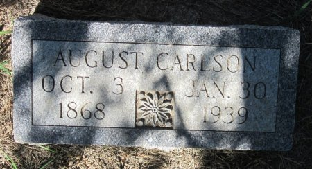 CARLSON, AUGUST - Day County, South Dakota   AUGUST CARLSON - South Dakota Gravestone Photos