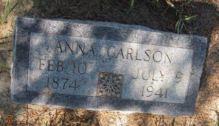 CARLSON, ANNA - Day County, South Dakota | ANNA CARLSON - South Dakota Gravestone Photos