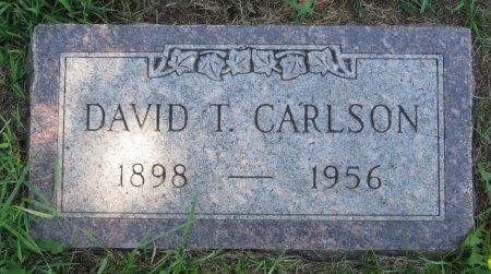 CARLSON, DAVID T. - Day County, South Dakota   DAVID T. CARLSON - South Dakota Gravestone Photos