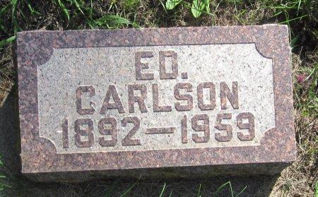 CARLSON, ED - Day County, South Dakota | ED CARLSON - South Dakota Gravestone Photos