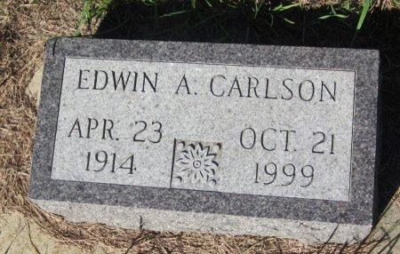 CARLSON, EDWIN A. - Day County, South Dakota | EDWIN A. CARLSON - South Dakota Gravestone Photos