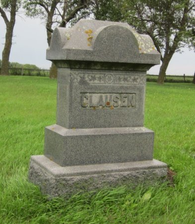 CLAUSEN, (FAMILY MARKER) - Day County, South Dakota | (FAMILY MARKER) CLAUSEN - South Dakota Gravestone Photos