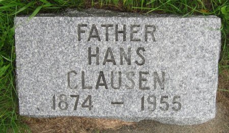 CLAUSEN, HANS - Day County, South Dakota | HANS CLAUSEN - South Dakota Gravestone Photos