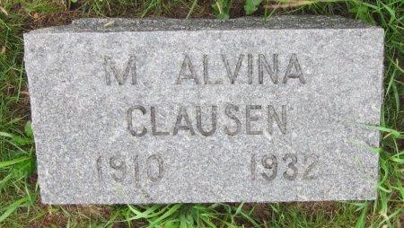 CLAUSEN, M. ALVINA - Day County, South Dakota | M. ALVINA CLAUSEN - South Dakota Gravestone Photos