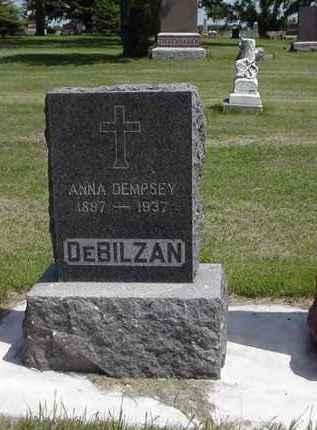 DEMPSEY DEBILZAN, ANNA - Day County, South Dakota | ANNA DEMPSEY DEBILZAN - South Dakota Gravestone Photos