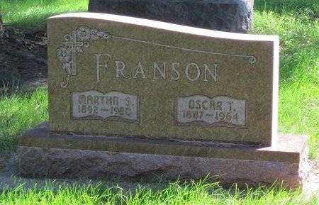 FRANSON, MARTHA S. - Day County, South Dakota | MARTHA S. FRANSON - South Dakota Gravestone Photos