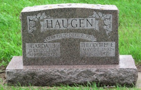 HAUGEN, GARDA J. - Day County, South Dakota | GARDA J. HAUGEN - South Dakota Gravestone Photos