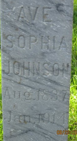 JOHNSON, AVE SOPHIA (CLOSE UP) - Day County, South Dakota | AVE SOPHIA (CLOSE UP) JOHNSON - South Dakota Gravestone Photos