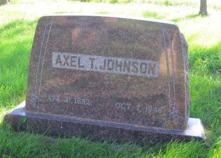 JOHNSON, AXEL T. - Day County, South Dakota | AXEL T. JOHNSON - South Dakota Gravestone Photos