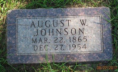 JOHNSON, AUGUST W. - Day County, South Dakota | AUGUST W. JOHNSON - South Dakota Gravestone Photos