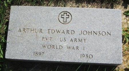 JOHNSON, ARTHUR EDWARD - Day County, South Dakota | ARTHUR EDWARD JOHNSON - South Dakota Gravestone Photos