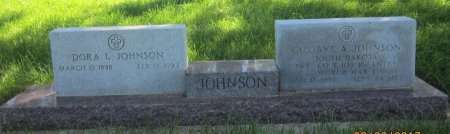 JOHNSON, GUSTAVE A. - Day County, South Dakota | GUSTAVE A. JOHNSON - South Dakota Gravestone Photos