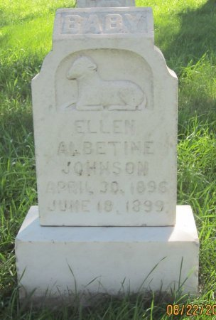 JOHNSON, ELLEN ALBETINE - Day County, South Dakota   ELLEN ALBETINE JOHNSON - South Dakota Gravestone Photos