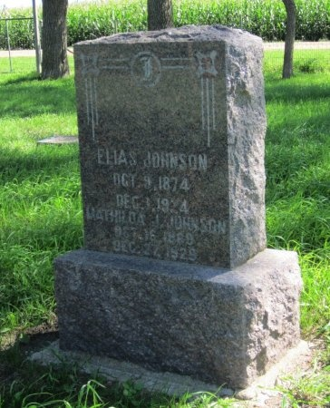 JOHNSON, ELIAS - Day County, South Dakota | ELIAS JOHNSON - South Dakota Gravestone Photos