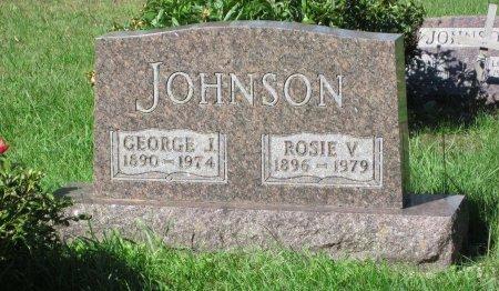 JOHNSON, ROSIE V. - Day County, South Dakota   ROSIE V. JOHNSON - South Dakota Gravestone Photos