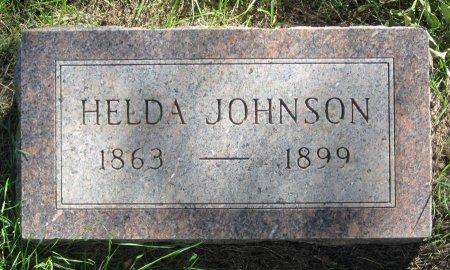 JOHNSON, HELDA - Day County, South Dakota | HELDA JOHNSON - South Dakota Gravestone Photos