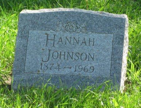 JOHNSON, HANNAH - Day County, South Dakota | HANNAH JOHNSON - South Dakota Gravestone Photos