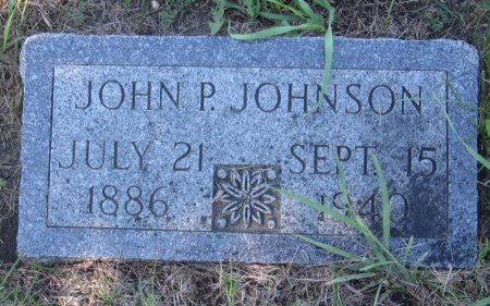 JOHNSON, JOHN P. - Day County, South Dakota | JOHN P. JOHNSON - South Dakota Gravestone Photos