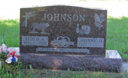 JOHNSON, LLOYD A. - Day County, South Dakota | LLOYD A. JOHNSON - South Dakota Gravestone Photos