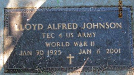 JOHNSON, LLOYD ALFRED (MILITARY) - Day County, South Dakota | LLOYD ALFRED (MILITARY) JOHNSON - South Dakota Gravestone Photos