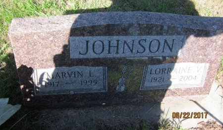 JOHNSON, LORRAINE V. - Day County, South Dakota | LORRAINE V. JOHNSON - South Dakota Gravestone Photos