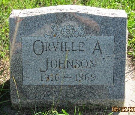 JOHNSON, ORVILLE A. - Day County, South Dakota   ORVILLE A. JOHNSON - South Dakota Gravestone Photos