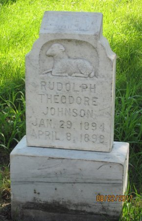 JOHNSON, RUDOLPH THEODORE - Day County, South Dakota | RUDOLPH THEODORE JOHNSON - South Dakota Gravestone Photos