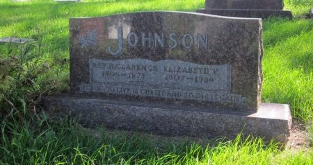 JOHNSON, ELIZABETH V. - Day County, South Dakota | ELIZABETH V. JOHNSON - South Dakota Gravestone Photos