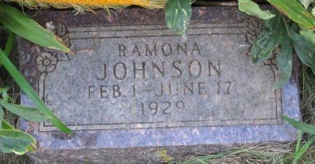 JOHNSON, RAMONA - Day County, South Dakota | RAMONA JOHNSON - South Dakota Gravestone Photos