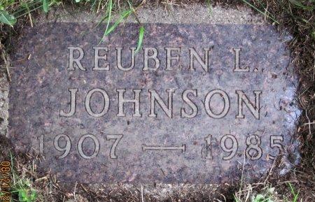 JOHNSON, REUBEN L. - Day County, South Dakota | REUBEN L. JOHNSON - South Dakota Gravestone Photos