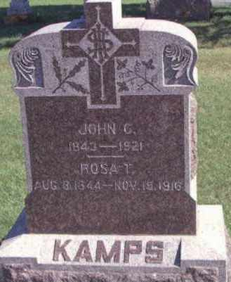 LEöNARD KAMPS, ROSA - Day County, South Dakota | ROSA LEöNARD KAMPS - South Dakota Gravestone Photos