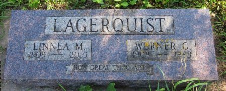 LAGERQUIST, LINNEA M. - Day County, South Dakota   LINNEA M. LAGERQUIST - South Dakota Gravestone Photos
